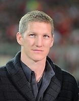 FUSSBALL   CHAMPIONS LEAGUE  VIERTELFINAL RUECKSPIEL   2011/2012      FC Bayern Muenchen - Olympic Marseille          03.04.2012 Bastian Schweinsteiger (FC Bayern Muenchen)