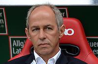 Fussball 2. Bundesliga:  Saison   2012/2013,    3. Spieltag  1. FC Kaiserslautern - TSV 1860 Muenchen   26.08.2012 Trainer Reiner Maurer (1860 Muenchen)