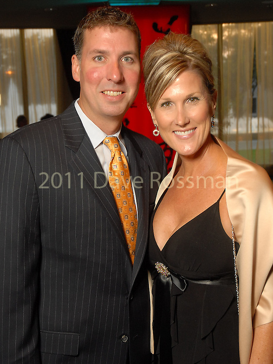 James Fulweber and his wife Seliece Caldwell Fulweber at the World Trade Gala at the Hotel ZaZa Saturday Aug. 29, 2009.(Dave Rossman/For the Chronicle)
