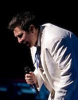 KD Lang performing at Hamer Hall, Melbourne, 22 April 2008