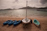 Boats at the Ready, Turtle Island, Yasawa Islands, Fiji