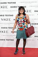 Loles Leon at Vogue December Issue Mario Testino Party