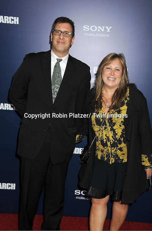 "Richard LaGravanese and wife attends the New York Premiere of ""The Ides of March"" .on October 5, 2011 at The Ziegfeld Theatre in New York City. The movie stars George Clooney, Marisa Tomei, Evan Rachel Wood, Paul Giamatti, Phillip Seymour Hoffman and Jeffrey Wright."
