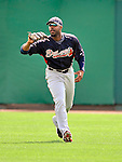 6 March 2011: Atlanta Braves' outfielder Jason Heyward in action during a Spring Training game against the Washington Nationals at Space Coast Stadium in Viera, Florida. The Braves shut out the Nationals 5-0 in Grapefruit League action. Mandatory Credit: Ed Wolfstein Photo