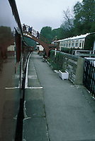 Footbridge at Goathland Railway Station