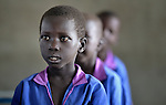 Students in a Catholic school in Malakal, Southern Sudan. NOTE: In July 2011 Southern Sudan became the independent country of South Sudan.