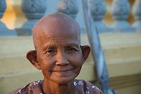 Phnom Penh River side, Cambodia
