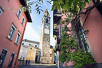 Ascona, Ticino, Switzerland, August 2009. The Town of Ascona situated on the banks of Lago Maggiore lake, attracts a lot of wealthy people and wannabe's. Some of Switzerlands best restaurants can be found here. Ticino is the subtropical canton of switzerland where Italian is the first language. Photo by Frits Meyst/Adventure4ever.com