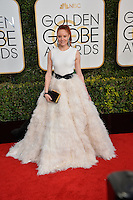 Barbara Meier at the 74th Golden Globe Awards  at The Beverly Hilton Hotel, Los Angeles USA 8th January  2017<br /> Picture: Paul Smith/Featureflash/SilverHub 0208 004 5359 sales@silverhubmedia.com