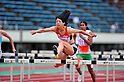 Fumie Takehara (JPN), JULY 8, 2011 - Athletics :The 19th Asian Athletics Championships Hyogo/Kobe, Women's Heptathlon 100mH at Kobe Sports Park Stadium, Hyogo ,Japan. (Photo by Jun Tsukida/AFLO SPORT) [0003]