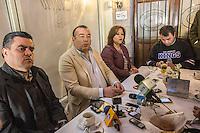Querétaro, Qro. 6 de enero de 2016. El dirigente municipal del PRD ofreció esta mañana una rueda de prensa. Foto: Alejandra L. Beltrán / Obture Press Agency.