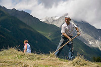 Antholz,  South Tyrol, June 2007. The Valley of Antholz is surrounded by mountains of over 3000 meters. South Tyrol used to be part of Austria until it became part of Italy after WWI. Photo by Frits Meyst/Adenture4ever.com