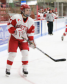 Shannon Mahoney (BU - 14) - The Boston University Terriers defeated the visiting University of Windsor Lancers 4-1 in a Saturday afternoon, September 25, 2010, exhibition game at Walter Brown Arena in Boston, MA.