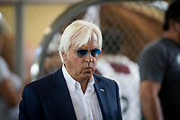 ARCADIA, CA - MARCH 11: Trainer, Bob Baffert before the San Felipe Stakes at Santa Anita Park on March 11, 2017 in Arcadia, California. (Photo by Alex Evers/Eclipse Sportswire/Getty Images)