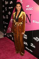NEW YORK, NY - NOVEMBER 16: Teyana Taylor at the Sixth Annual WEEN Awards at ESPACE on November 16, 2016. Credit: Walik Goshorn/MediaPunch