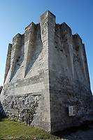 LES ANDELEYS, FRANCE - OCTOBER 10: View of the inner side of the keep of the Chateau Gaillard, on October 10, 2008 in Les Andelys, Normandy, France. The chateau was built by Richard the Lionheart in 1196, came under French control in 1204 following a siege in 1203. It was later destroyed by Henry IV in 1603 and classified as Monuments Historiques in 1852. (Photo by Manuel Cohen)