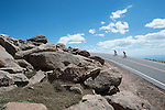 Pikes Peak climb for Cyclist magazine. June 2014