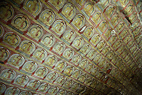 Dambulla cave temple<br /> <br /> It is the largest and best preserved cave temple complex in Sri Lanka.<br /> <br /> Major attractions are spread over 5 caves, which contain statues and paintings. This paintings and statues are related to Lord Buddha and his life. There are a total of 153 Buddha statues, 3 statues of srilankan kings and 4 statues of god and goddess. The latter 4 include two statues of Hindu gods, Vishnu and Ganesh. The murals cover an area of 2,100 m&sup2;. Depictions in the walls of the caves include Buddha's temptation by demon Mara and Buddha's first sermon.