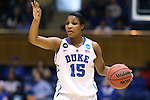 24 March 2014: Duke's Richa Jackson. The Duke University Blue Devils played the DePaul University Blue Demons in an NCAA Division I Women's Basketball Tournament Second Round game at Cameron Indoor Stadium in Durham, North Carolina. DePaul won the game 74-65.