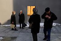 Old people in Vaduz.