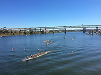 Portland Dragon Boat Festival in downtown Portland Oregon