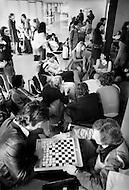 Paris, August 1977. Centre Des Etudiants De La Rue Brocca. Vie Quotidienne des Juifs a Paris.