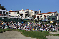 02/20/11 Pacific Palisades, CA:  Clubhouse at Riviera Country Club during the final round of the Northern Trust Open.