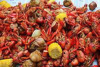 Louisiana Red,crawfish boil