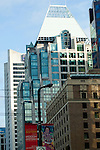 Down town buildings, Vancouver, British Colombia, Canada. British Columbia, Canada