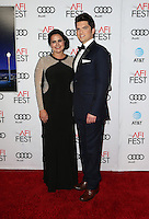 Hollywood, CA - NOVEMBER 15: Justin Breitschopf, Brooke Sandlin, At Audi Celebrates La La Land At AFI Fest 2016 Presented By Audi At The TCL Chinese Theatre, California on November 15, 2016. Credit: Faye Sadou/MediaPunch