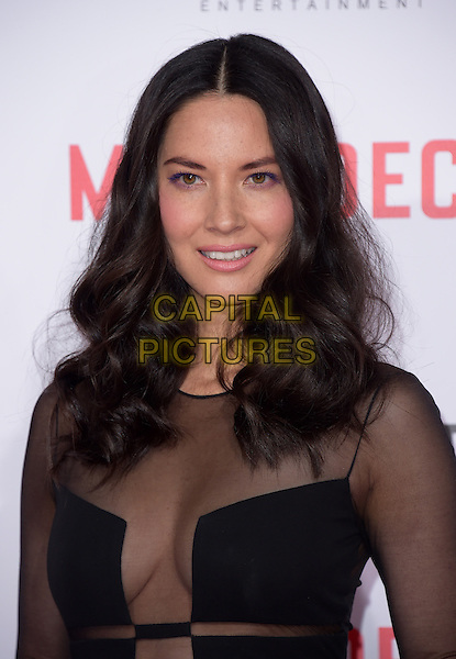 Olivia Munn attends The Mortdecai Los Angeles Premiere held at The TCL Chinese Theater  in Hollywood, California on January 21,2015                                                                               <br /> CAP/DVS<br /> &copy;DVS/Capital Pictures