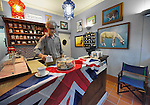 VENICE ITALY - APRIL 29:  Final touches at a local tearoom on Rio Marin where will celebrate the Royal Wedding on April 29, 2011 in Venice, Italy. The wedding of Britain's Prince William and his fiancee Kate Middleton is being celebrated at Westminster Abbey in London on April 29, 2011. MARCO SECCHI