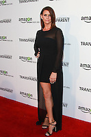 LOS ANGELES, CA, USA - SEPTEMBER 15: Amy Landecker arrives at the Los Angeles Premiere Of Amazon Studios' 'Transparent' held at the Ace Hotel on September 15, 2014 in Los Angeles, California, United States. (Photo by David Acosta/Celebrity Monitor)