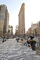 THE FLATIRON BUILDING, Coffee Cups, New York City, New York, designed by Daniel H. Burnham & Co. in 1902
