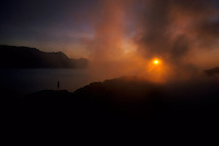Mount Bromo at sunrise, Java, Indonesia, 2002