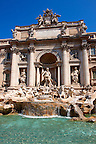 The Baroque Trevi Fountain. Rome