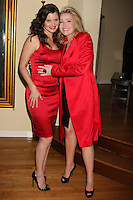 LOS ANGELES - DEC 17:  Heather Tom, Melody Thomas Scott at the 2011 Tom / Achor Annual Christmas Party at Private Home on December 17, 2011 in Glendale, CA