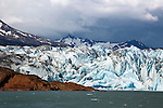 Glacier Viedma in Parque Nacional los Glaciares (North), Argentina.