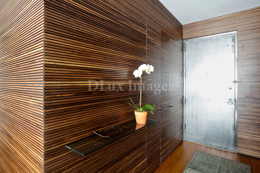 Wood paneling walls<br />