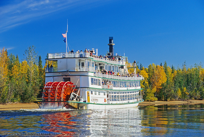 Riverboat Discovery on the Chena river in Fairbanks.