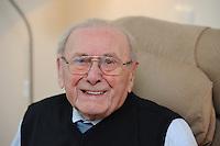 ALGEMEEN: GORREDIJK: 100jarige Harke de Jong, ©foto Martin de Jong