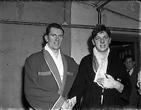 T Bruce, Sandymount at National Junior Boxing Championships, Heavyweight runner up.18/12/1952