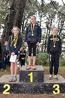 Action from the Athletics Wellington - Kids Cross Country at Mt Victoria, Wellington, New Zealand on Sunday 14 September 2014.<br /> Photo by Masanori Udagawa.<br /> www.photowellington.photoshelter.com