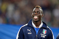 Fussball International  WM Qualifikation 2014   10.09.2013 Italien - Tschechien Mario Balotelli (Italien)