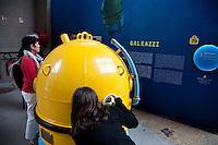 Cherbourg Cité de la Mer  Museo dedicato al mare Apparecchio sottomarino ideato dall'ingegner Roberto Galeazzi
