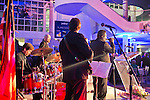 Feb. 27, 2013 - Garden City, New York, U.S. - At the 10th Annual Cradle of Aviation Museum Air & Space Gala, celebrating the 40th Anniversary of Apollo 17, the band played and guests danced after the honorees received their awards.