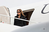 Melania Trump, wife of United States President-elect of The United States Donald J. Trump arrives Joint Base Andrews in Maryland January 19, 2017the day before his swearing in as 45th President of The United States. <br /> Credit: Chris Kleponis / Pool via CNP