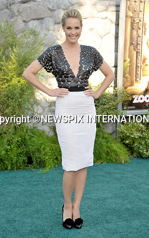 "LESLIE BIBB.arrives at the World Premiere of ""Zookeeper"" at the Regency Village Theatre in Westwood, California. WESTWOOD, Los Angeles, California_06/07/2011.Mandatory Photo Credit: ©Crosby/Newspix International. .**ALL FEES PAYABLE TO: ""NEWSPIX INTERNATIONAL""**..PHOTO CREDIT MANDATORY!!: NEWSPIX INTERNATIONAL(Failure to credit will incur a surcharge of 100% of reproduction fees).IMMEDIATE CONFIRMATION OF USAGE REQUIRED:.Newspix International, 31 Chinnery Hill, Bishop's Stortford, ENGLAND CM23 3PS.Tel:+441279 324672  ; Fax: +441279656877.Mobile:  0777568 1153.e-mail: info@newspixinternational.co.uk"