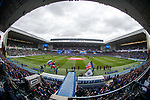 Ibrox Stadium before the final Old Firm game of the season