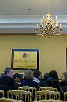 """Pubblico alla presentazione del libro """"UN GIORNO VIVRO' ANCH'IO"""", il genocidio del Rwanda raccontato ai giovani.Yolande Mukagasana , autrice candidata al Premio Nobel per la Pace 2011 .5 febbraio 2011 - Palazzo Valentini - Provincia di Roma ,Sala di Liegro..."""